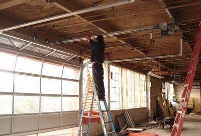 Промышленный ремонт гаража