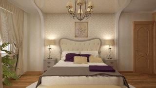 Дизайн-проект 3 к.кв. - Спальня