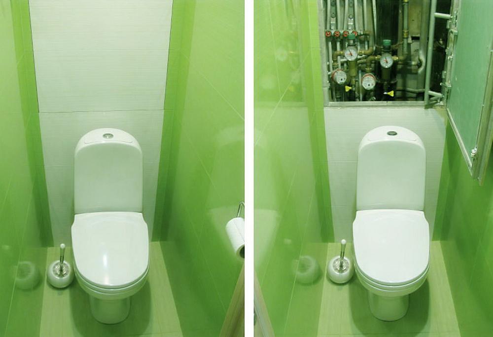 ремонт туалета-дизайн