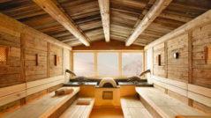 Внутренняя отделка банного комплекса