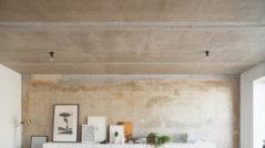 Заделка трещин и щелей в бетонном потолке