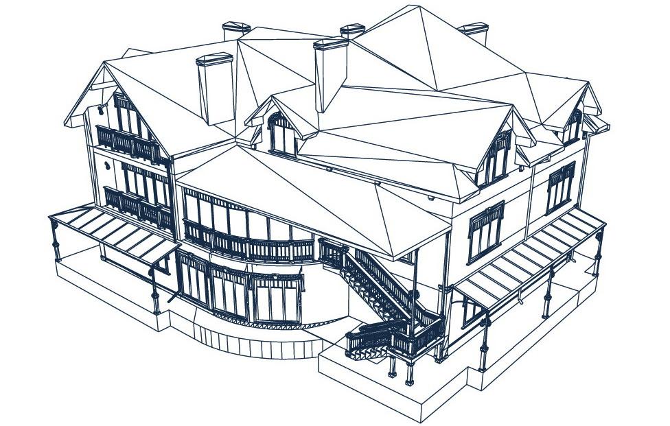 Архитектура здания-2