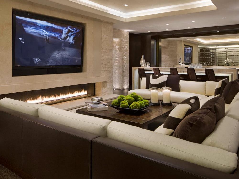 Дизайн квартиры теплых тонах