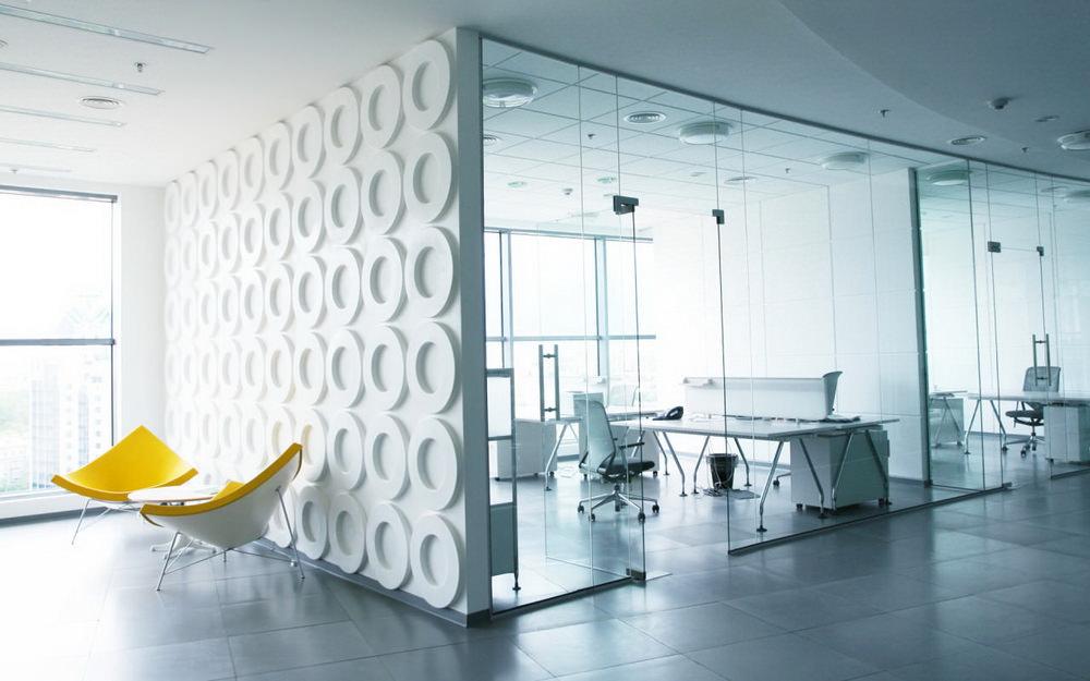 Современный светлый офис
