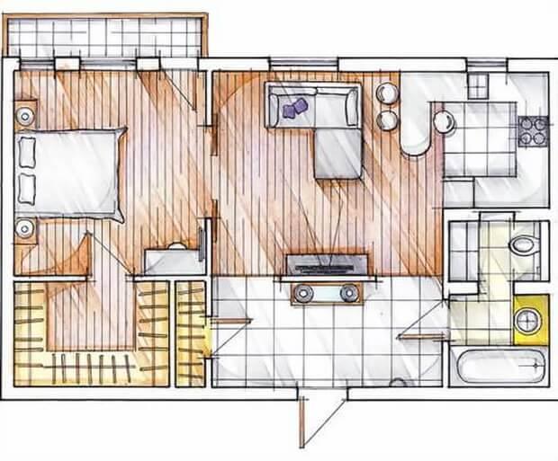 Перепланировка в малогабаритных квартирах советы