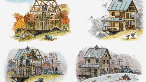 Строительство каркасного дома своими руками поэтапно