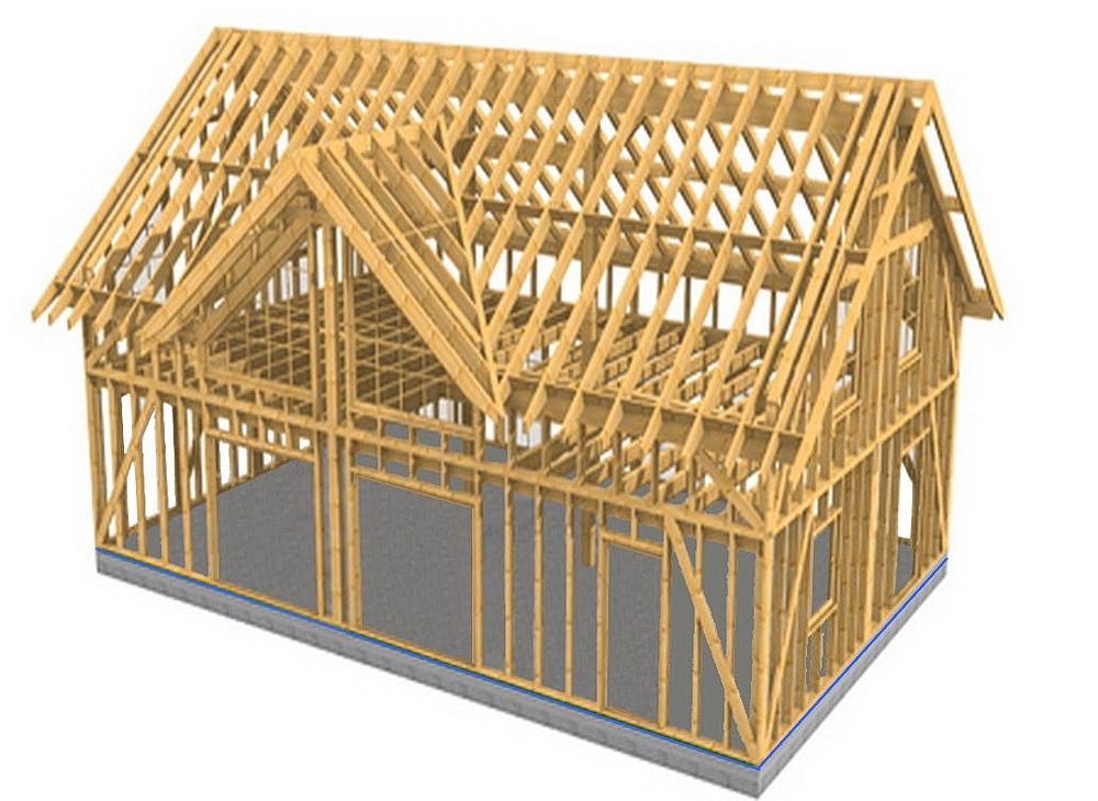 Проект деревянного каркасника