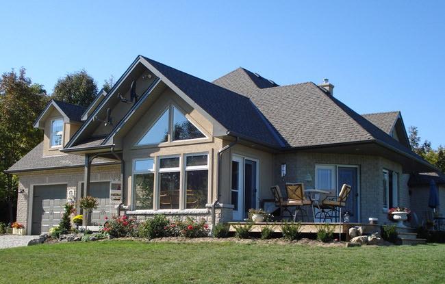 готовый дом из сип панелей