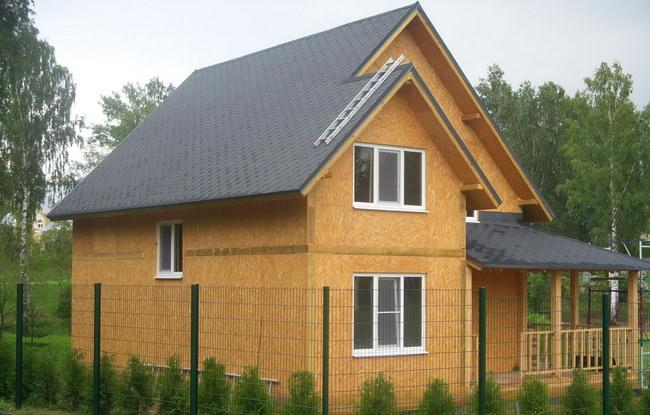 дом построенный по СИП технологии
