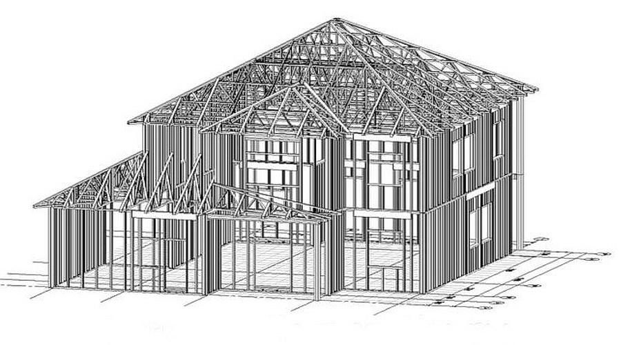 проект дома ЛСТК