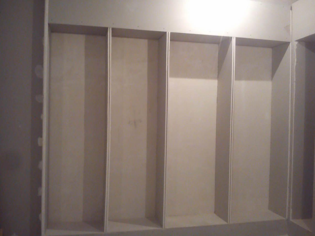 Возведение ГКЛ конструкций по стенам
