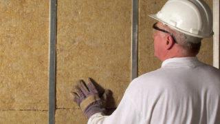 Утепляем стены минеральной ватой