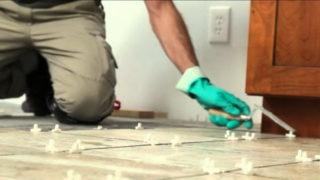 Керамическая плитка в интерьере помещения
