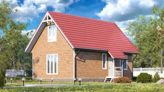 Проекты дачных домов на 6 соток